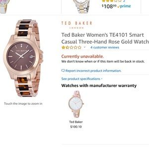 d396ebe26 Ted Baker Watches for Women